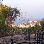 un angolo del giardino di Gabbiano