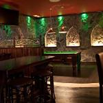 The welcoming interior of the Claddagh Bar Marbella