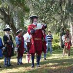 Plan your trip when the re-enactors are performing