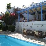 Paros PANORAMA,terrasse et piscine