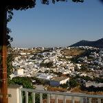 Apollonia vue de la terrasse de ma chambre