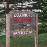 Redstone population sign