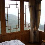 room view (180yuan a night) - thought there are cheaper rooms