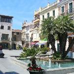 Calella main square