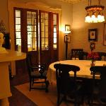 Dining room, filled with elegant furnishings