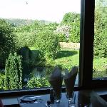 View from Heron's View restaurant