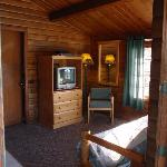Sample lakefront cabin interior