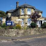 Where we stayed in Shanklin