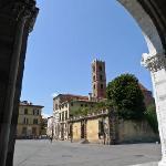 Stadteinfahrt Lucca