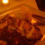 Chicken w Mushroom/Asparagus Ragout