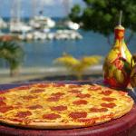 Pizza at The Deck
