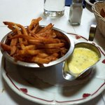 Fries with Bearnaise sauce