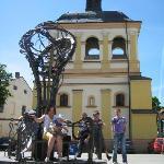 One of presents to Ivano-Frankivsk from International Blacksmiths' Festival 2010