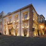 L'antico palazzo che ospita il ristorante