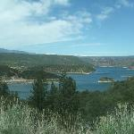 a view from the Flaming Gorge drive