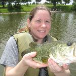 My wife and I love the fishing here!