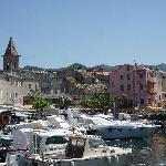 the harbour at St Florent