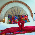 Mexican Textiles on King Bed