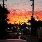 sunset over argassi