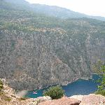 Faralya Art House: Butterfly Valley from above