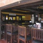 Inside bar area of Baja Brewing Co.