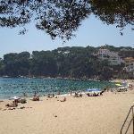 The beach at Llafranc