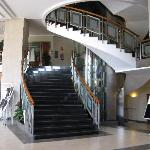 escalier dans le hall
