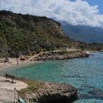 Beach near Lourdas