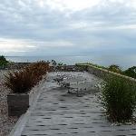 Uitzicht vanaf gite Le Loft