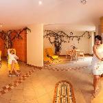 Ruheraum Wellnes Sauna Hotel Alpina Rauris