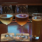 Wine V Beer! (that is a pint)
