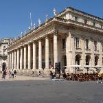 Le Grand Théâtre, sans voitures