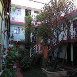 Interior Hostel Courtyard