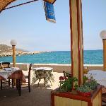 Taverna by the harbour Kolymbari