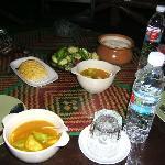 Lunch in Karabi restaurant