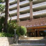 Hotel. Entrada del hotel