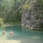 el coronazo, una piscina natural