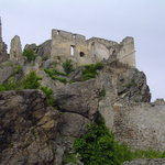 Castle ruins in Durnstein