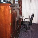 tv desk area