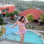 Me posing, the breath taking view of Bohol