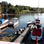 Otter Creek Inn docks