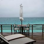 The worse it can get - a rainy day in the Maldives!