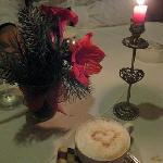 A little dessert at the Restaurant Sonne