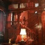 the cherrywood staircase from the Ballroom