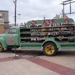 Dr. Pepper truck