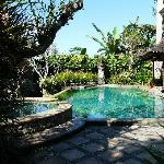 ein Platz zum Erholen, der ansprechende Pool