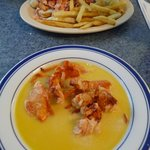 Simply amazing Lobster Stew and LObster Roll