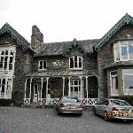 Front of Ambleside Lodge