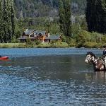 Horseback riding and fishing at Peuma Hue