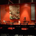 Shabu shabu dining room
